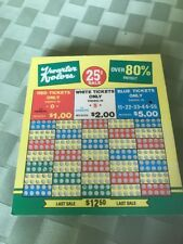 Kwarter Kolors Punchboard - Great Condition - Unpunched!