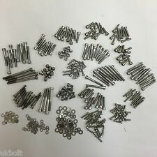 448 pcs Kawasaki A7 Avenger & A1 Samurai STAINLESS ENGINE & FRAME BOLTS KIT