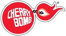 Cherry Bomb Pegatina Calcomanía De Escape
