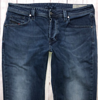 Mens DIESEL Larkee-Beex Jeans W36 L30 Blue Regular Straight Wash 084TU STRETCH