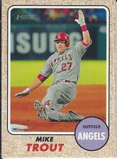 Mike Trout 2017 Topps Heritage Action Variatio SP