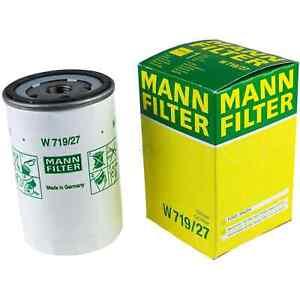 Mann Oil FilterW719/27 fits FORD AUSTRALIA FIESTA WP,WQ 1.6 i
