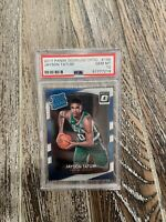 2017-18 Donruss Optic #198 Jayson Tatum Boston Celtics RC Rookie PSA 10 Gem Mint