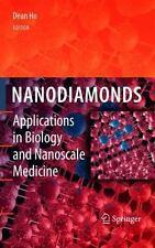 Nanodiamonds: Applications in Biology and Nanoscale Medicine - Ho, Dean [Edito..