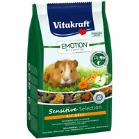 VITAKRAFT Emotion Sensitive All Ages, Porcellino d'India - 600 g - Fodera