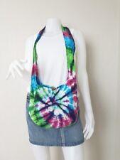 Tie Dye Bag Small Hobo Hippie Cotton Purse Shoulder Boho Crossbody Handmade B882