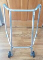 Trulife RM563080 Compact Wheeled Walking Zimmer Mobility Aid Frame 2 Wheels