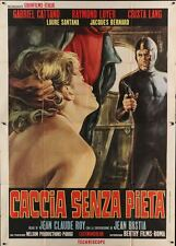 RESEAU SECRET TOP SECRET NET Italian 4F movie poster 55x79 1966 MOS art