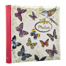 Photo Album Slip In Case Memo Vinage Butterfly Album  For 200 4 x 6'' -  BB200
