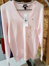 tommy hilfiger jacket pink sweater new with tags nwt large
