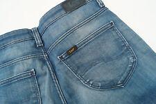LEE Scarlett Damen stretch Jeans Hose slim 27/33 W27 L33 stonewashed blau #22
