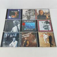 Tony Bennett Lot of 9 CDs (9 Discs, MTV, Sinatra, Ellington, Originals & Covers)
