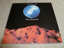 PAUL DESMOND-Pure Desmond VINYL LP JAZZ TOP COPY CTI