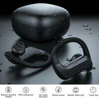 Écouteurs TWS sans fil Bluetooth 5.0 Écouteurs Mini crochet intra-auriculaire LB