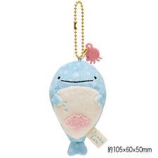 ~ * New San-x Jinbei Jinbee San Whale Shark Keychain Plush Toy * ~Us Ship + Fast