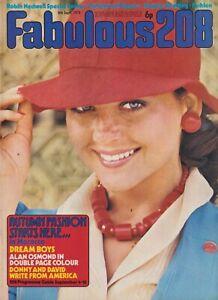 FABULOUS / FAB 208 Magazine - 8 Sept 1973 - The Osmonds Robin Nedwell