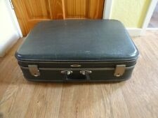 Vintage Hard Shell Suitcase Foxcroft By Antler 1970`s retro 18 x 60 x 42 cm