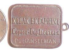 KODAK EKTAPRINT COPIER DUPLICATORS PERFECT ATTENDANCE 84 D HANSELMAN 1975 - 1984