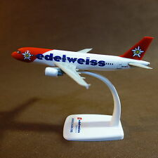 1/200 Edelweiss Airlines Airbus A320-200 Airplane Display Model