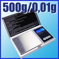 G&G MS 500g/0,01g Feinwaage Taschenwaage Digital-waage Goldwaage
