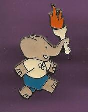 Pin's pin BABAR BRUNHOFF / JEUX OLYMPIQUES