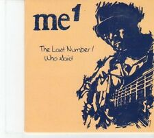 (DQ50) Me 1, The Last Number / Who Said - 2012 DJ CD