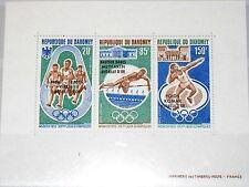 DAHOMEY 1972 Block 20 S/S 172a Olympics Munich München Winner ovp ÜD Sport MNH