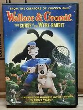 Wallace & Gromit: The Curse of the Were-Rabbit (DVD, 2006, Widescreen) READ NOTE