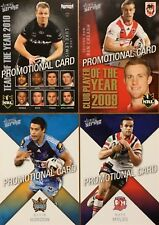 2011 NRL SELECT STRIKE PROMO SET LEWIS CREAGH GORDON MYLES 4 CARDS