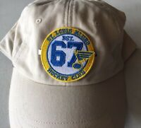 """ST. LOUIS BLUES CAP SIZE PATCH """"HOCKEY CLUB"""" VINTAGE STYLE NHL STANLEY CUP CHAMP"""
