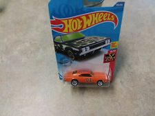 Hot Wheels GENERAL LEE Dukes Hazard CHARGER 500 W/REALRIDERS CUSTOM VERY SHARP!!