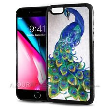 ( For iPhone 8 Plus ) Back Case Cover AJH11524 Peacock