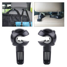 2pcs Auto Car Seat Back Headrest Organizer Holder Travel Storage Bag Hanger Tidy