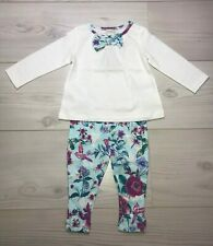 Monsoon baby girls top and leggings set 3-6 months