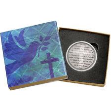 The Lord's Prayer 1oz .999 Fine Silver Round (Religious Box)