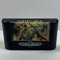 Golden Axe II 2 (Sega Genesis, 1991) Video Game Cartridge Only Authentic Tested