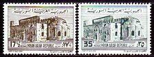 Syrien Syria 1962 ** Mi.790/91 Basilika Qalb-Lozeh-Kirche Church