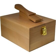 Wooden Shoe Cleaning Storage Box