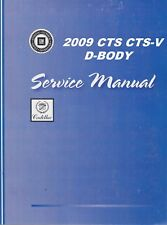 Cadillac other car truck manuals literature ebay 2009 cadillac cts cts v service repair shop manual 4 volume book set fandeluxe Images