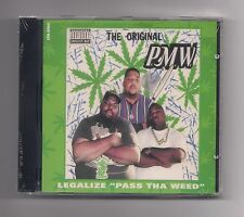 "PxMxWx - Legalize ""Pass tha weed"" CD rare 1993 SEALED Cash Money Records"
