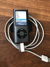 Apple iPod nano 4th Gen. Graphite (16GB)A1285 Working Near Mint Condition