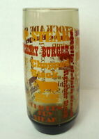 Sirloin Stockade Steakhouse Glass Drink Tumbler Vintage