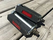 MUSCLE BIKE PEDALS SPEEDWAY VINTAGE BIKE BICYCLE PEDAL PEDALS 1/2 NOS NIB