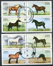 STAFFA (SCOTLAND) 1977 SHOW HORSES SET OF 8 COMPLETE!