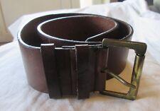 Magnifique ceinture made in Italy  en cuir TBEG  vintage T 75 cm - Belt