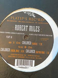 Robert Miles - Children. original Platipus Records release. 1995, 3 mixes. LARGE
