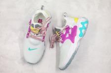 Nike React Presto - CD9015-101 - White / Purple-Teal / Yellow - Wmn 10 = Men 8.5