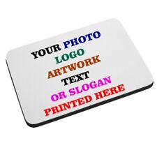Personalised Custom Mouse Mat - We Print Your Image Text Logo Art Photo Slogan