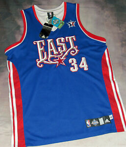 100% Authentic Adidas 2008 NBA All Star Game Jersey Paul Pierce Autograph SZ 44
