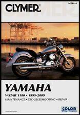 CLYMER MANUAL YAMAHA V-STAR 1100 CUSTOM & CLASSIC 2000-09, V-STAR XVS1100 1999
